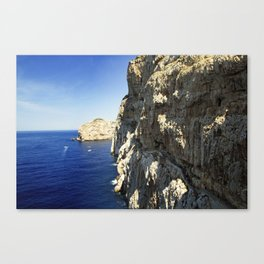 The Way To Neptune's Cave, Sardinia Canvas Print