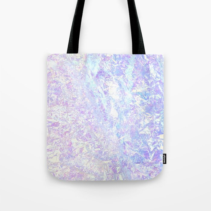 Iridescent Crystal Tote Bag