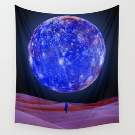 Blue planet Wall Tapestry