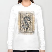 michael scott Long Sleeve T-shirts featuring Scott by Dapper Dove