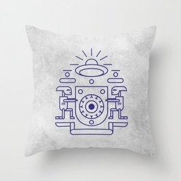UFO Watchers Throw Pillow