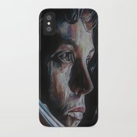 ripley iPhone & iPod Cases featuring Ripley from Aliens by Ashley Anderson