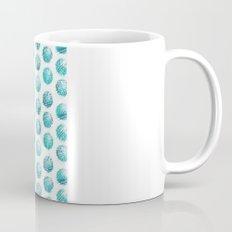 Sketchy dots - teal Mug