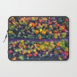 The Autumn Forest (Color) Laptop Sleeve