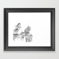 In which fish show concern Framed Art Print