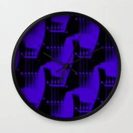 Guitar Heaven 1 Wall Clock