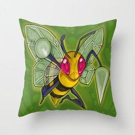 Bzz bzz! Throw Pillow