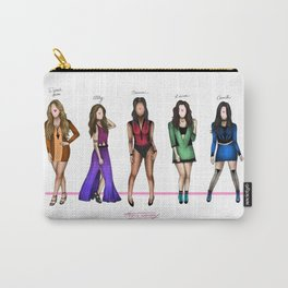 Fifth Harmony: Color names Carry-All Pouch