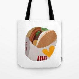 Burger Life Tote Bag