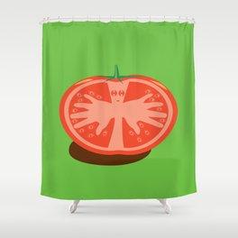 Tomato Guy Shower Curtain