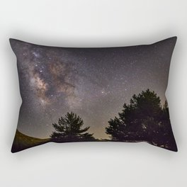 Milkyway at the mountains. Saggitarius Antares and Rho Ophiuchus Rectangular Pillow