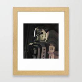 Necronaut low-polygon 3D artwork Framed Art Print