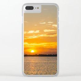 St. Pete Sunrise Clear iPhone Case