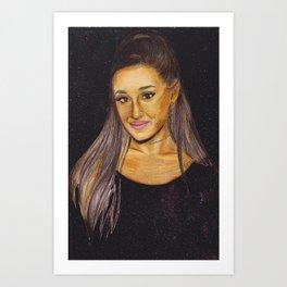 ARIANA II Art Print
