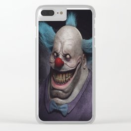 Krusty the Clown Clear iPhone Case