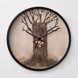 the old oak tree Wall Clock