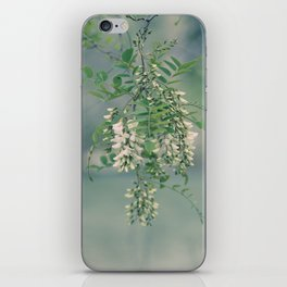 White Spring Blossoms iPhone Skin