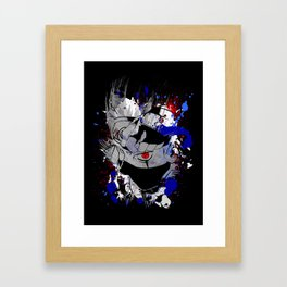 Kakashi Eye Framed Art Print