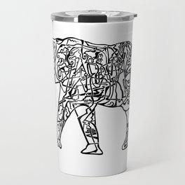 'Six'  by John McLachlan Travel Mug