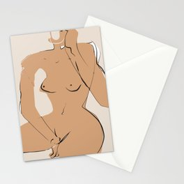 Dreamer nude Stationery Cards