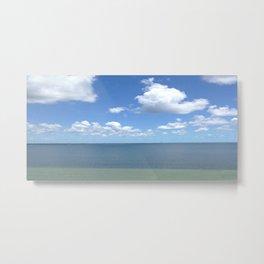 Tranquil Atmosphere On The Ocean Metal Print