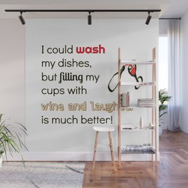 Fill Your Cups Wall Mural