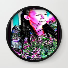 Botanic Candy 06 Wall Clock