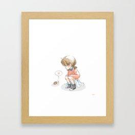 Hello, Friend! Framed Art Print