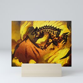 The Roiling Fury Mini Art Print