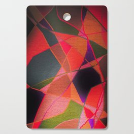 Abstract Form Cutting Board