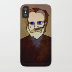 Prophets of Fiction - Frank Herbert /Dune iPhone X Slim Case
