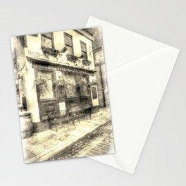 The Mayflower Pub London Vintage Stationery Cards