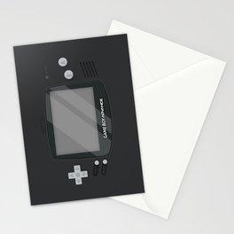 Gameboy Advance - Black Stationery Cards