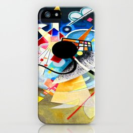 Kandinsky One Center iPhone Case