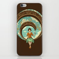 nouveau iPhone & iPod Skins featuring Welcome to My World by Enkel Dika