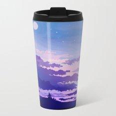 Moon Rising Metal Travel Mug