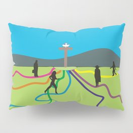 Many Paths to Jesus Pillow Sham