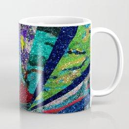 Peacock Mermaid Battlestar Galactica Abstract Coffee Mug