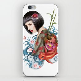 KIMONO iPhone Skin
