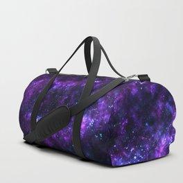 Cosmos - Purple Duffle Bag