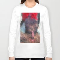 redhead Long Sleeve T-shirts featuring Redhead by TARA SCHLAYER