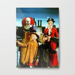 PENNYWISE IN MARY POPPINS Metal Print