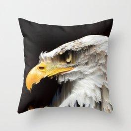 Slipping Patriotism Throw Pillow