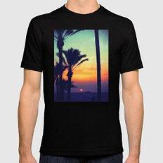 Ibiza Sunrise MEDIUM Mens Fitted Tee Black