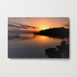 end of a great day Metal Print