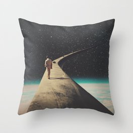 We Chose This Road My Dear Throw Pillow