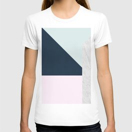 Gold and marble composition III T-shirt