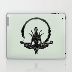Meditation Alien Laptop & iPad Skin