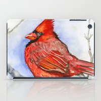 cardinal iPad Cases featuring Cardinal by Priscilla George