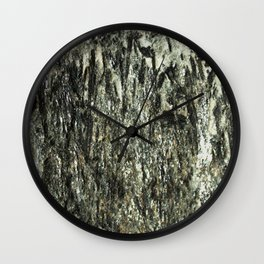 Green Fiber Wall Clock